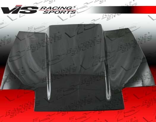 VIS Racing - 84-86 Cowl-Induction Carbon Fiber Hood - Product Image